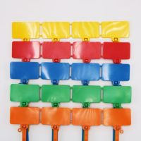 Blank Flag Cable Tie Markers