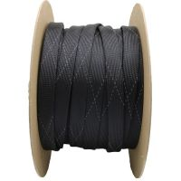 Non-Fray FR Flame Retardant PET Expandable Braided Cable Sleeving