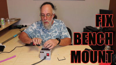 Repairing a Bench Mount Hot Knife