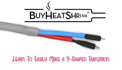 Make Your Own Heat Shrink Y-Transition